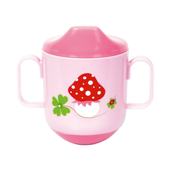 Spiegelburg Plüschfigur BabyGlück: Steh-auf-Becher, rosa