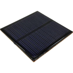 POLY-PVZ-6060-5V Solarzelle 6 V/DC 0.065A 1 St. (L x B x H) 60 x 60 x 3.1mm