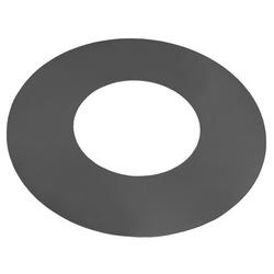 Stahlgrillplatte für Feuerschalen (Grillplatte: Ø 82cm / 40cm mit Loch + 4 Griffen)