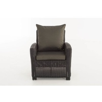 Clp Fisolo 5mm Loungesessel schwarz/anthrazit