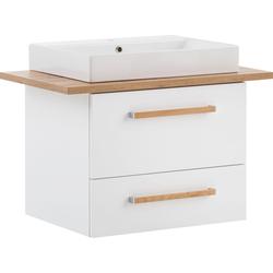 Schildmeyer Waschtisch Duo, 80 cm Breite weiß