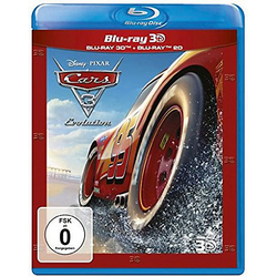 BLU-RAY Cars 3 - Evolution 3D (BluRay 3D + BluRay) Hörbuch