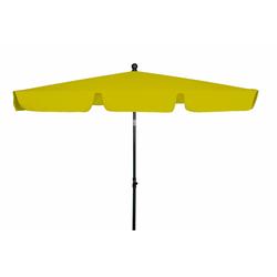 Derby FLORENZ PARAGON Sonnenschirm Balkonschirm 180x120cm gelb