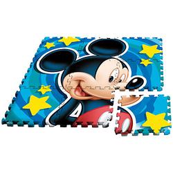 Mickey Maus Puzzlespielmatte, Moosgummi, 9-tlg.