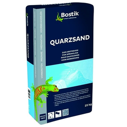 Bostik Quarzsand Körnung 0.1-0.5mm 25 Kg Sack