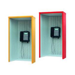 FHF Telefon-Schallschutzhaube Modell 404 GFK orange 11890123