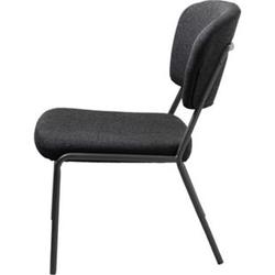Sessel Brass Esszimmerstuhl Stuhl Küchenstuhl Bürostuhl Polsterstuhl grau