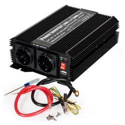 tectake Wechselrichter 12V auf 230V 1000W 2000W Spannungswandler