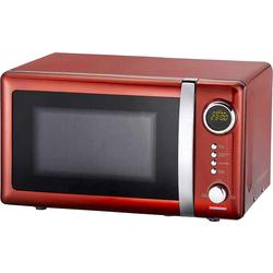 MELISSA Mikrowelle Retro Design 16330109 rot metallic