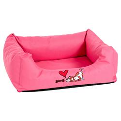 Karlie Hundebett Montenegro rosa, Maße: 80 x 67 x 22 cm