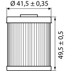 Hi-Q Ölfilter Einsatz OF157 für KTM/Beta/Husqvarna....