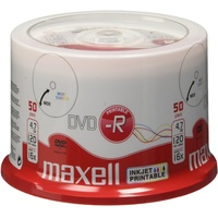 Maxell DVD-R 4.7GB 16x 50er Spindel