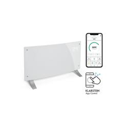 Klarstein Konvektor Bornholm Curved Smart Konvektionsheizgerät 2000W App-Steuerung Timer