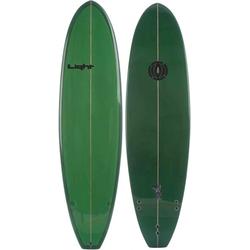 LIGHT WTF Surfboard green - 7,2