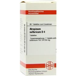 ATROPINUM SULF D 4