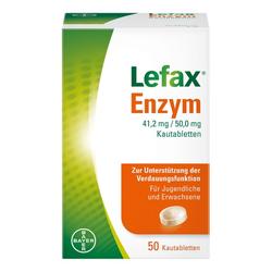 Lefax® Enzym zur Unterstützung der körpereigenen Verdauung 50 St