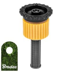 Sprühdüse für Pop-Up Sprinkler Versenkregner Einstellbare Düse 0-360° Bewässerungsflache 3m Bradas 5113