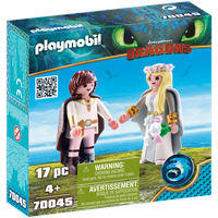 Playmobil Dragons Astrid und Hicks 70045
