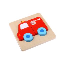 Tooky Toy Puzzle Mini Puzzle Tier o. Fahrzeug - Baby-Puzzle Motorik-Spiel Geschicklichkeitsspiel, Puzzleteile