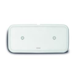 Zens Dual Fast Wireless Ladegerät EU / UK / US 10W weiß