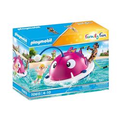 Playmobil® Spielfigur PLAYMOBIL® 70613 Kletter-Schwimminsel