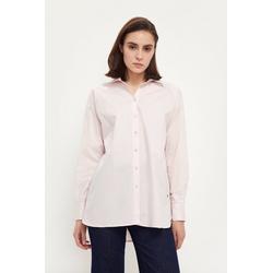 Finn Flare Klassische Bluse in klassischer Optik rosa XL