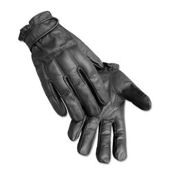 Mil-Tec Lederhandschuhe Defender schwarz, Größe XL/10