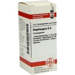 STAPHISAGRIA D 6 Globuli 10 g