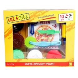 Creathek Knete-Spielset Pizza, 10-teilig 63214116