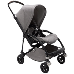 Bugaboo Bee 5 Buggy Mineral Edition - Light Grey Black