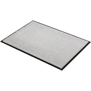 Fußmatte Miami Uni, SCHÖNER WOHNEN-Kollektion, rechteckig, Höhe 7 mm, Schmutzfangmatte, waschbar grau 50 cm x 70 cm x 7 mm