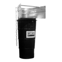 Bauschuttrutsche Gummi, 1450 mm, mit Metall-Einfülltrichter