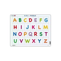 Larsen Puzzle Rahmen-Puzzle, 26 Teile, 36x28 cm, ABC, Puzzleteile