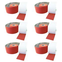 SFM ® Kinesiologische Tapes : cotton in Papierbox 5cmx5m orange (6)