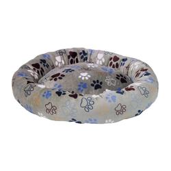 Nobby Tierbett HundeDonut Classic Lissi grau M - 70 cm x 70 cm x 15 cm