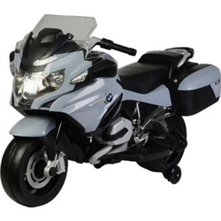 Kindermotorrad BMW R 1200RT Lizenz Kinderelektro Motorrad Kinderfahrzeug Dreirad... Grau