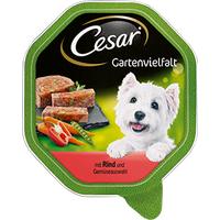 Cesar Gartenvielfalt mit Rind und Gemüseauswahl 14 x 150 g