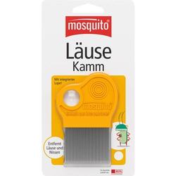 MOSQUITO Nissenkamm Metall mit Lupe 1 St