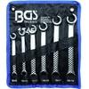 BGS 1745 Satz Ringschlüssel OFFEN 8-19mm 6 teilig für Bremsleitung Hydraulikleitungen