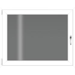 RORO Türen & Fenster Kellerfenster, BxH: 80x60 cm, ohne Griff