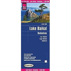 Reise Know-How Landkarte Baikalsee / Lake Baikal (1:550.000). Peter Rump  - Buch