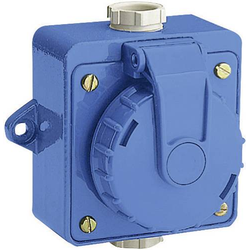 ABL Sursum 197.7751 Aufputz-Steckdose IP68 Blau