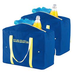 2er-Set zusammenfaltbare Nylon-Kühltaschen, 21 Liter, EPE-isoliert