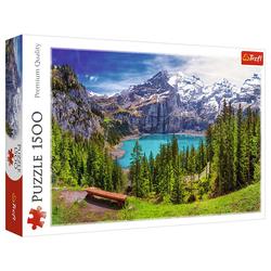 Trefl Puzzle Trefl 26166 Alpen, Schweiz 1500 Teile Puzzle, 1500 Puzzleteile