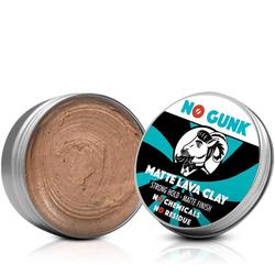 NO GUNK - Matte Lava Clay - Natürliches Haarwachs/Haarpaste - Starker Halt - 50 g