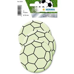 Leuchtsticker Fußball Maxi 1 Blatt