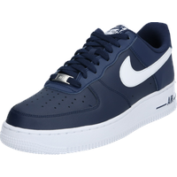 Nike Men's Air Force 1 '07 navy-white/ white, 41