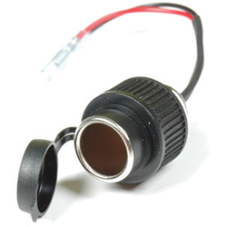Booster 12V Zigarettenanzünder-Steckdose, schwarz