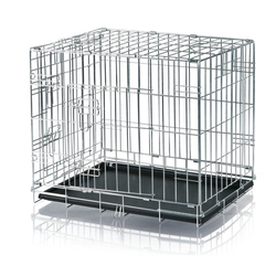 TRIXIE Hundekäfig verzinkt 54 cm x 64 cm x 48 cm