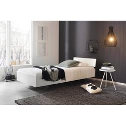 Bett in alpinweiß, Liegefläche 90 x 200 cm